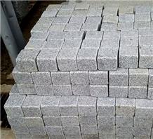 Grey Granite Cube, Paving Stone