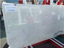 White Champagne Marble Slabs