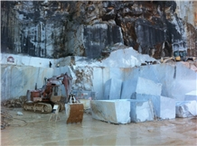 Bianco Trambiserra Marble Blocks
