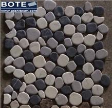 Pebble Mosaic Tile Tumbled Marble Mosaic Tiles