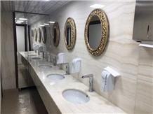 Akdag Onyx Vanila White Tiles for Bathroom