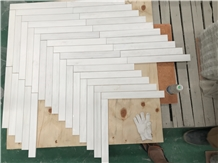 Bianco Dolomite Venato White Marble Mosaic Tiles