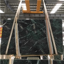 Verde Guatemala Dark Green Marble Slab Ice Connect