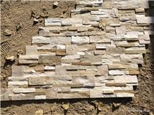 Beige Yellow Slate Wall Cladding