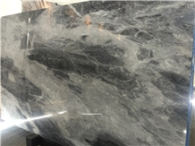 Silver Moon Marble