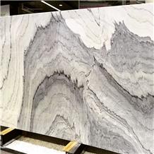 White Fusion Marble Slabs