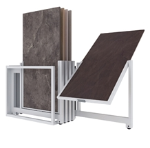 New Style Ceramic Slab Tiles Display Stand Rack