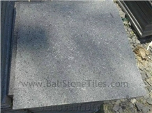 Bali Gray Andesite Stone Tiles, Paving Floor Flamed
