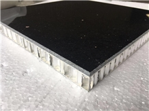 Black Galaxy Stone Composite Panels