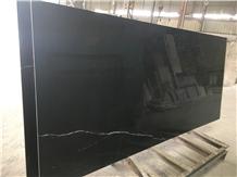 Black Marquina Aluminum Honeycomb Panel for Wall