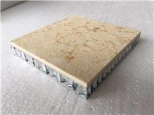 Egypt Cream Thin Stone Honeycomb Panels