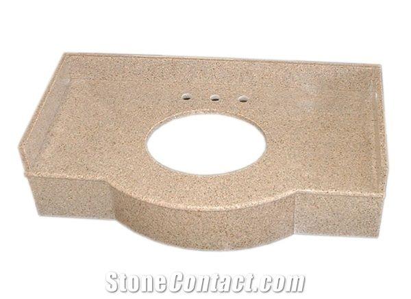 Thin Granite Countertops, Granite Veneer Vanity from China