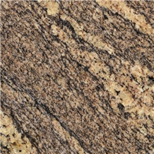 Giallo California Brown Granite Slabs and Floor