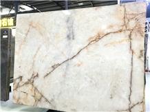Brazil White Iceberg Slab, White Luxury Stone
