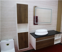 Bathroom Cabinet with Sink Basin
