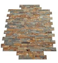 Cheap Natural Rusty Slate Stacked Stone Veneer
