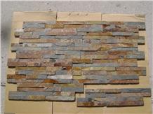 Multicolor Slate Rusty Slate Culture Stone Veneer
