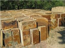 Rusty Slate Floor Tile Flooring Tile