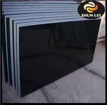 Shanxi Black Granite Slab, Black Granite Tile