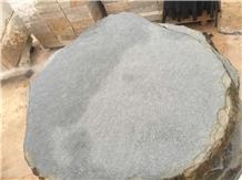 Crazy Paver Flagstone Basalt Organic Stepper