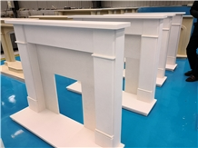 Modern Fireplace White Marble Hearth Wholesales