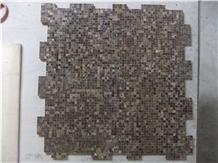 Dark Emperador, Light Emperador Marble Mosaics