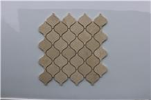 Spain Crema Marfil Latern Marble Mosaics