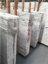 Mandalay White Marble Tiles Slabs Hotel Walling