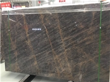 Golden Bvlgari Marble Slabs&Tiles Brown Quarry Own
