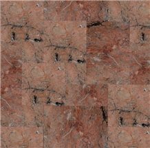 Bali Mega Red Polished Marble French Pattern