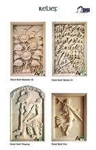 White Limestone Wall Reliefs Carving