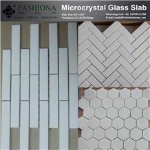 Micro Crstal Glass Mosaic Tile