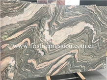 Cheap Water Cloudy Grey Marble Slabs&Tiles