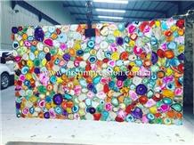 Popular Colorful Agate Gemstone Slabs&Tiles