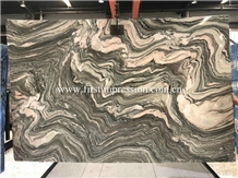 Water Cloudy Grey Marble Slabs&Tiles/China Marble