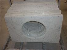 Bianco Carrara Countertops Bath Top