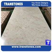 Artificial Backlit Marble Panels for Bar Counter
