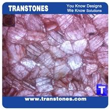 Artificial Translucent Agate for Interior Decors
