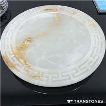 Decorative Artificial Onyx Marble Plates