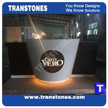 Faux Marble Stone for Reception Desk & Bar Top
