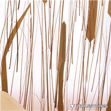 Straight Line Solid Surface Acrylic Panel Walling