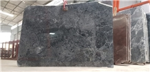 Dark Grey Marble Slabs, Viet Nam Grey Marble