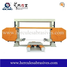 Cnc Wire Saw Machine for Block Squaring