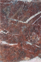 Exotic Red Marble Blocks, Rosso Imperial Red Marble Blocks