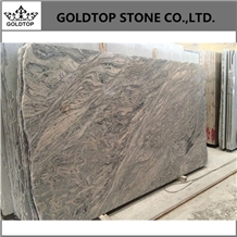 China Juparana Granite Slabs & Tiles, Granite Wall