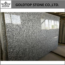 China Spray White Granite Tile, Granite Slab