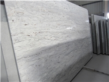 India Granite New White River Gang Saw Big Slabs