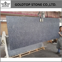 India Steel Gray Polished Granite Countertops