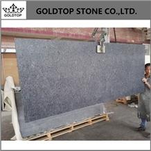 India Steel Gray Polished Granite Countertops