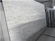 Indian White River Granite Prefab Counter